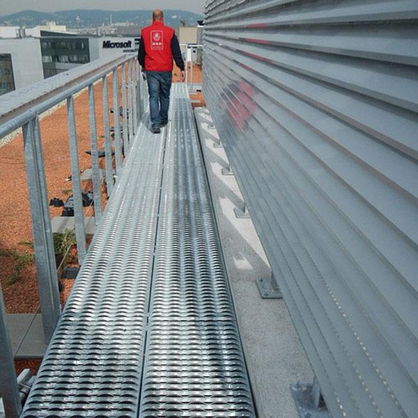 Industrial Metal Anti Slip Flooring Uk Graepel Perforators