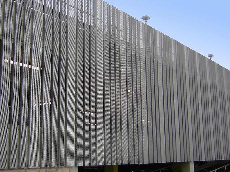 Galvanised Perforated Cladding Home