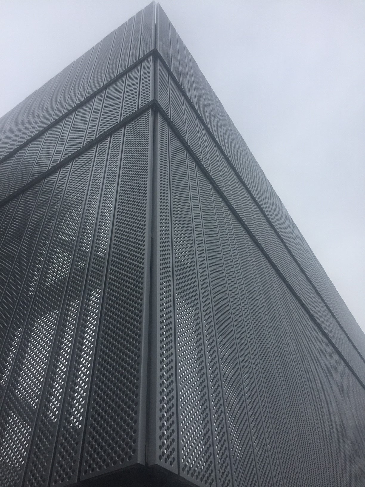 Galvanised Perforated Metal Cladding Home